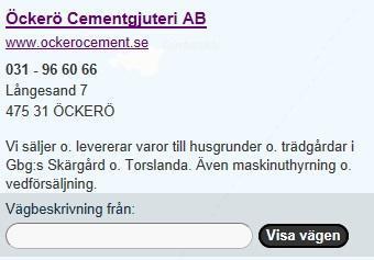 Öckerö Cement