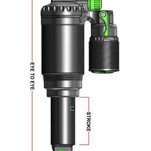 DVO Topaz air 197X 47.6mm SPECIALIZED Stumpy