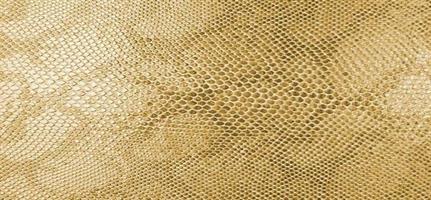 Konstläder ormskinn guld