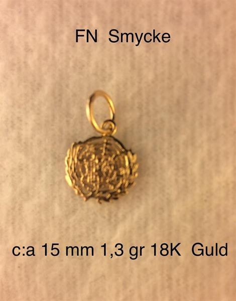 FN HÄNGE c:a 1gr 18K Guld