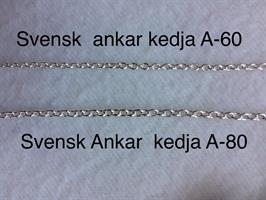 ANKARKEDJA A-60 1,8 mm c:a 8gr 18K Guld