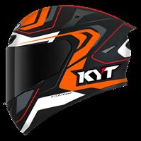 KYT TT-COURSE - Overtech Black/Orange