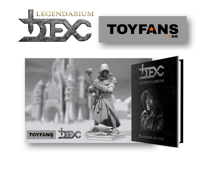 DEX LEGENDARIUM™ och TOYFANS inleder samarbete