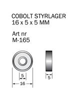 M-165 Kullager 16 x 5 x 5 mm