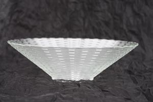 Glasskål vågig kant D28cm 9/fp