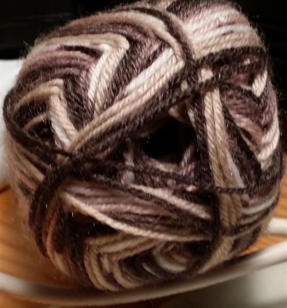 Kinna Textil Sock 4 print beige/brun