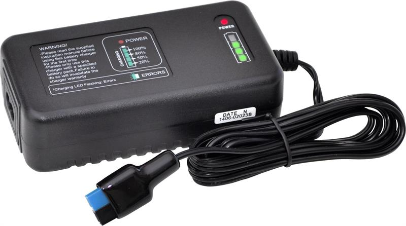 iON-Drive 3 A LiMn Laddare för 15.4 Ah batteri