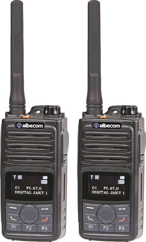 Radiopaket 2st VIPER X610 Analog/Digital.IP67.155mhz