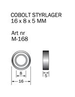 M-168 Kullager 16 x 8 x 5 mm