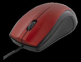 Mus Deltaco MS-713 Röd