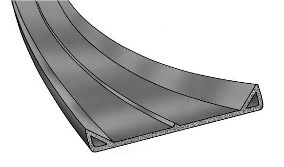 Trinnlydlist svilletetning gummi EPDM Hadeland Glass & Vaktmesterservice AS