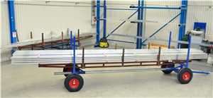 Långgodsvagn 3500 kg 4000x1270x640