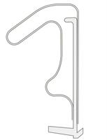 Q-lon 3094 Hvit - Løpemeter