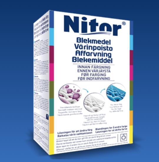 Avfärgningsmedel NITOR 330g