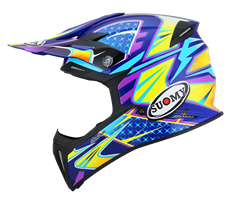 SUOMY X-WING - Duel Light Blue/Pink