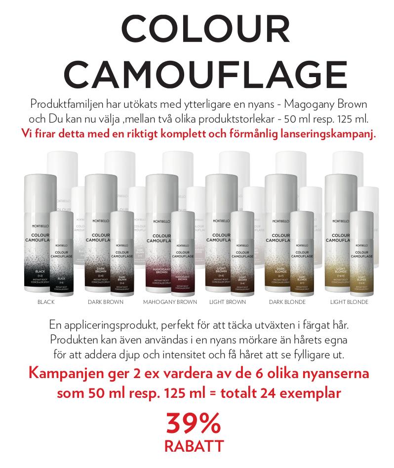 Colour Camouflage 12 stora +12 små