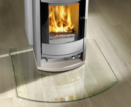 Glass under peis glass underlagsplate gulvglass floor plate under ovn peisglass Hadeland Glass