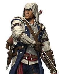 Assassin's Creed III, Connor, Color Tops Action fi