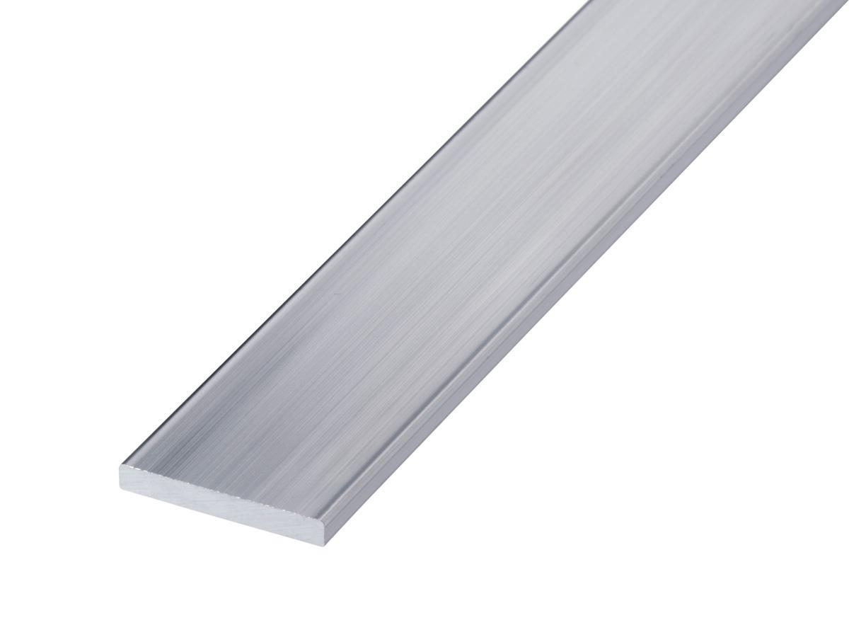 Aluminiumsskinne flattstål Hadeland glass