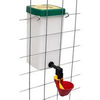 Vattenbehållare med kopp-1 liter