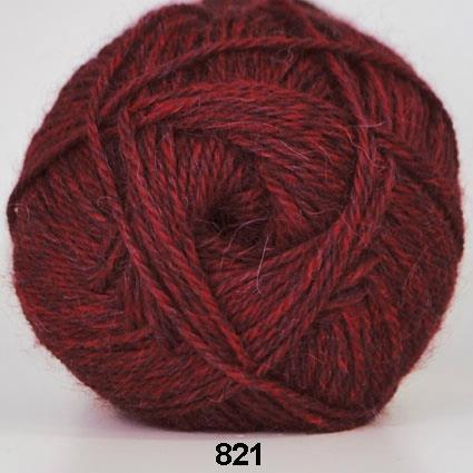 Kinna Textil Hjerte Alpacka vinröd