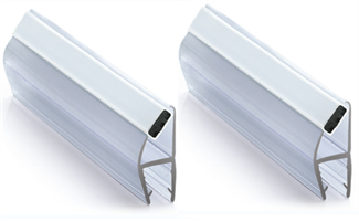 Magnetlist 90/180 gr. for 12 mm glass - 1 par
