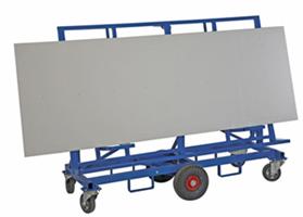 Skivvagn med arbetsbord 1900x700x1490