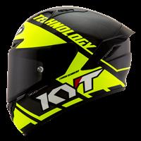 KYT NX RACE - Carbon Race-D Yellow Fluo