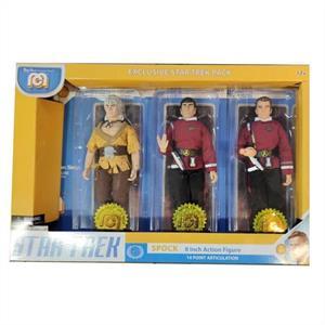 Star Trek 3-pack, Spock, Kirk & Khan