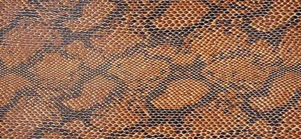 Konstläder ormskinn brunsvart