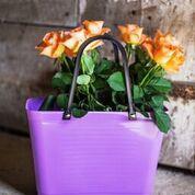 Hinza väska lila liten