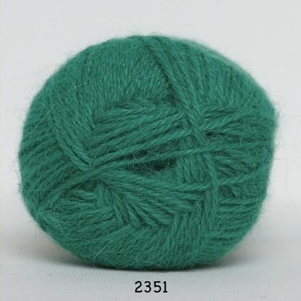 Kinna Textil Hjerte Alpacka limegrön