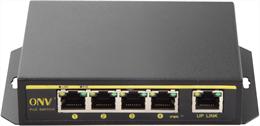 PoE-switch, 60W 5-port