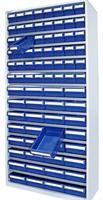Backskåp 9007  blå  2000x980x400 (9111+9113)