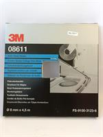3M Tätningsband Butyl Svart 8mm x 4,5m 08611