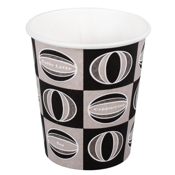 Kaffekopp dekor 118ml 20 x 50st