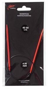 Järbo Garn rundsticka 40 cm/4,0 mm röd