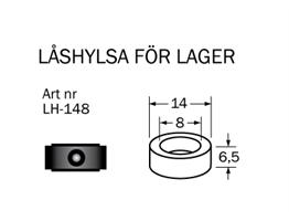 LH-148 Låshylsa 8  x 14 mm