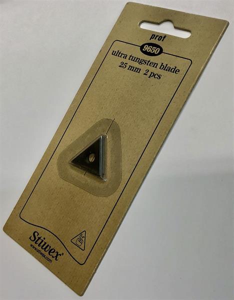 Hårdmetallskär 25mm Prof 2st (BAHCO 625)