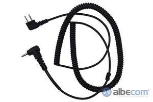 Kabel Peltor 2-stift FL6H-YL-Lafayette M4/M5