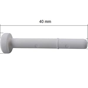 Sprosseplugg 5x40 mm Hvit - 5 stk