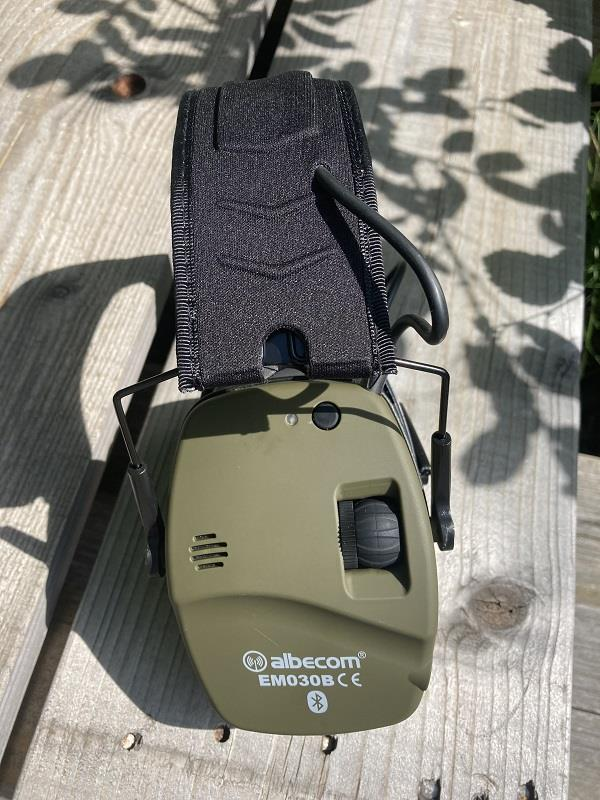 Hörselskydd EM030B. Bluetooth. Gröna