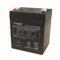 Batteri 12 Volt-5,4 Ah Blyack.Åtel/Larm