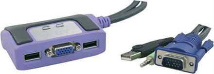KVM-switch, ATEN 2 portar
