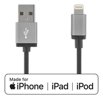 Kabel USB - Lightning 2m Svart