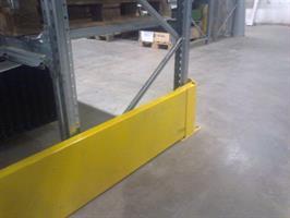 Gavelskydd 2350 mm, höjd 400 mm med plåt