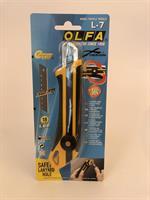 Olfa Brytkniv 18mm Wheel lock, L7