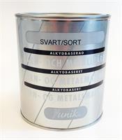 Järn&Metallfärg Svart..0,75 L