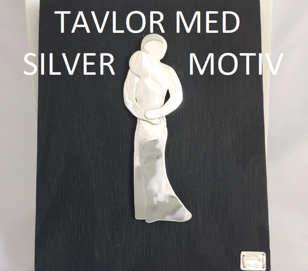 Tavlor med silvermotiv