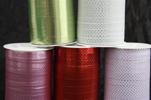 Presentsnöre dots 10mm olika färger